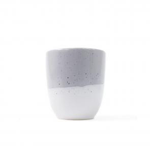 kubek aoomi haze mug white grey 330 ml