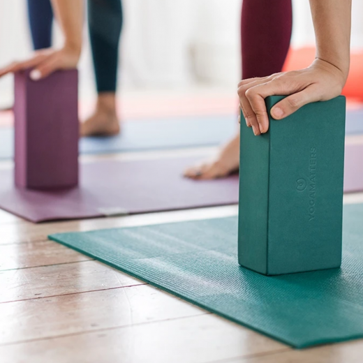 kostka do jogi yogamatters z pianki