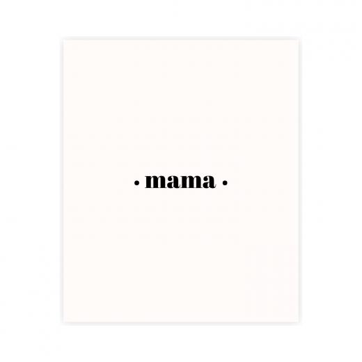 kartka okolicznosciowa z napisem mama