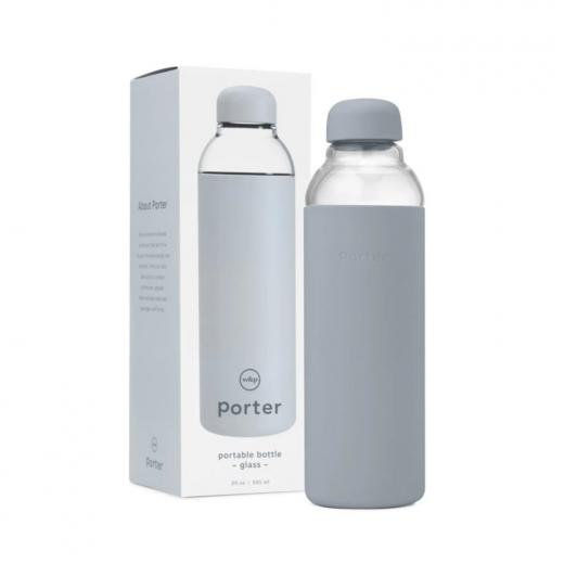 szklana butelka na wodę porter water bottle w&p