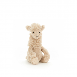 beżowa maskotka lama jellycat