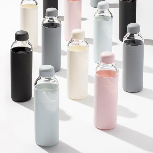 szklane butelki na wodę Porter w&p